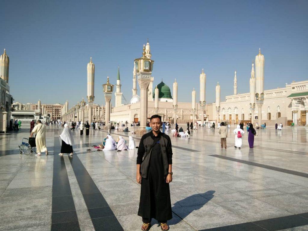 Dr Hariz @ Makkah for Umrah