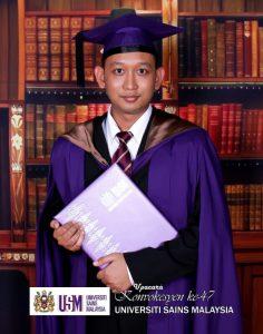 Dr Hariz Master Convocation 2