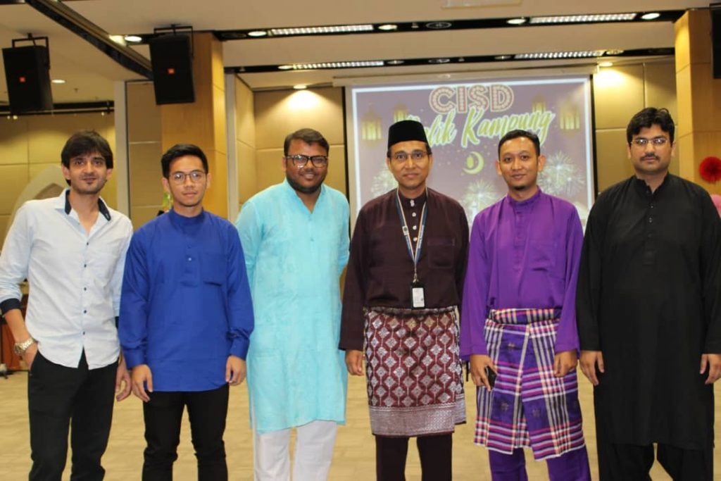 Dr Hariz with SLA research group